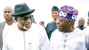 TINUBU INAUGURATES ONDO REVENUE HOUSE, COMMENDS AKEREDOLU FOR GENUINE RECONCILIATION