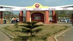 ACTING VICE CHANCELLOR ADEKUNLE AJASIN UNIVERSITY AKUNGBA PLEDGES TO TAKE INSTITUTION TO GREATER HEIGHTS IN SIX MONTHS