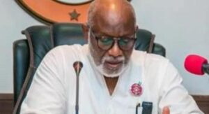 AKEREDOLU SAYS A UNITED ONDO PEOPLE WILL BRING ABOUT PROGRESS
