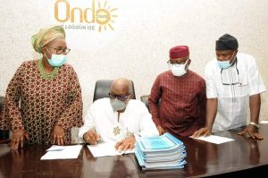 AKEREDOLU SIGNS STATE VIOLENCE AGAINST PERSONS  VIOLENCE (PROHIBITION  LAW ) 2021