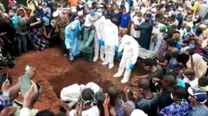 ADEGBENRO BURIED AS COVID 19 PROTOCOLS ARE OBSERVED