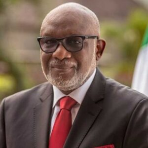 "GOVERNOR ROTIMI AKEREDOLU IN THIS INTERVIEW WITH SAM OMATSEYE ON ""THE PLATFORM"""