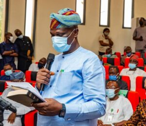 ALE SWORN IN AS CHIEF OF STAFF, AS AKEREDOLU COMMENDS HIS COMMITMENT TO DUTY AND LOYALTY
