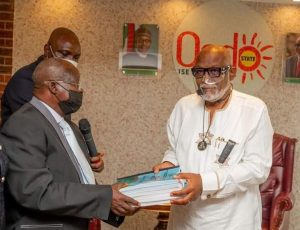 ENDSARS PANEL OF INQUIRY SUBMITS REPORT TO AKEREDOLU