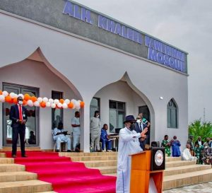 Ondo State Governor, Arakunrin Oluwarotimi Akeredolu, SAN, on Friday commissioned a newly built first of its kind Government House Mosque for Muslim faithful. 04/06/2021