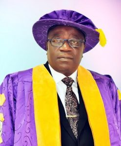 PROFESSOR  OLUGBENGA IGE TAKES OVER AS ADEKUNLE AJASIN UNIVERSITY AKUNGBA VICE-CHANCELLOR WITH POMP AND PAGEANTRY
